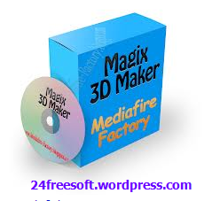 Magix 3D Maker 6.10 Free Download Full Version With Crack and Serial